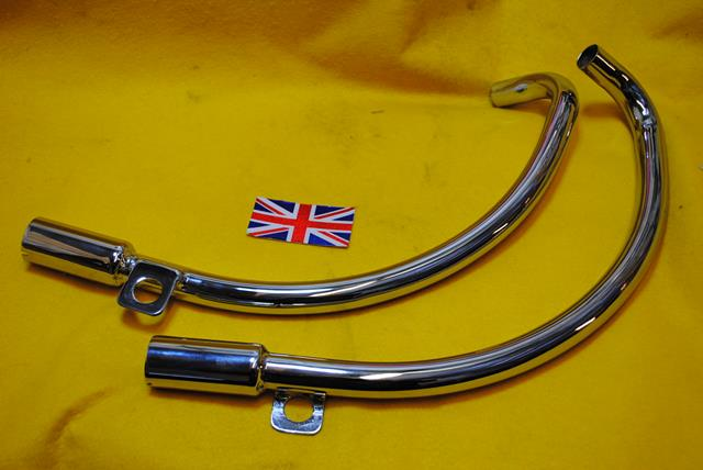 Norton Jubilee Exhaust