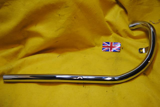 BSA B25 Exhaust