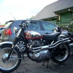 Show winning A10 with Armours Spitfire Scrambler pipes and shorty silencers